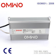 High Quality Rainproof 250W LED Driver Power Supply